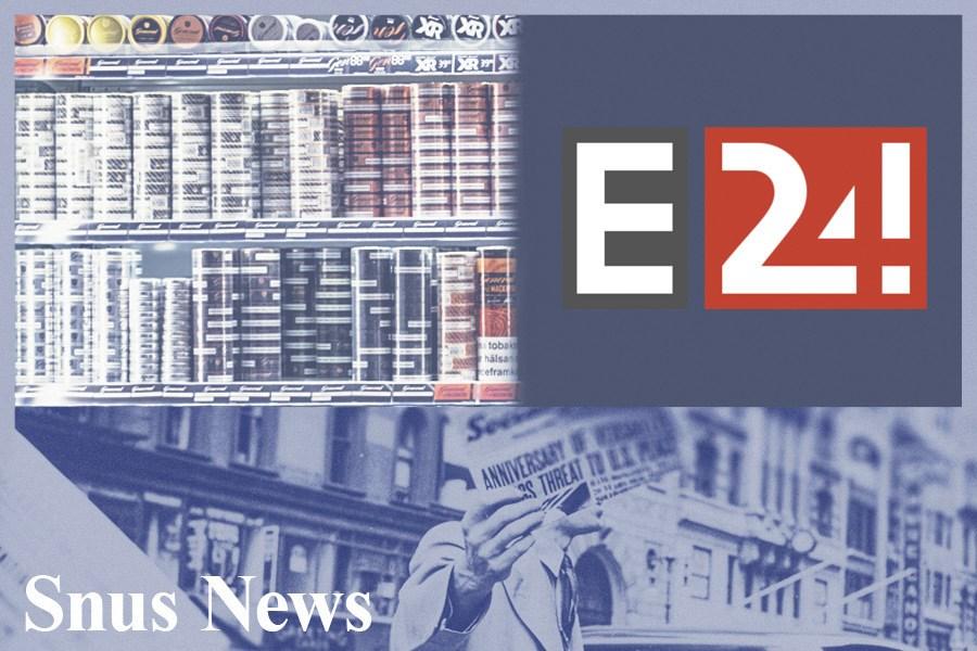 E24.no: Snusgigant reagerer kraftig på regler om dobbel alderskontroll