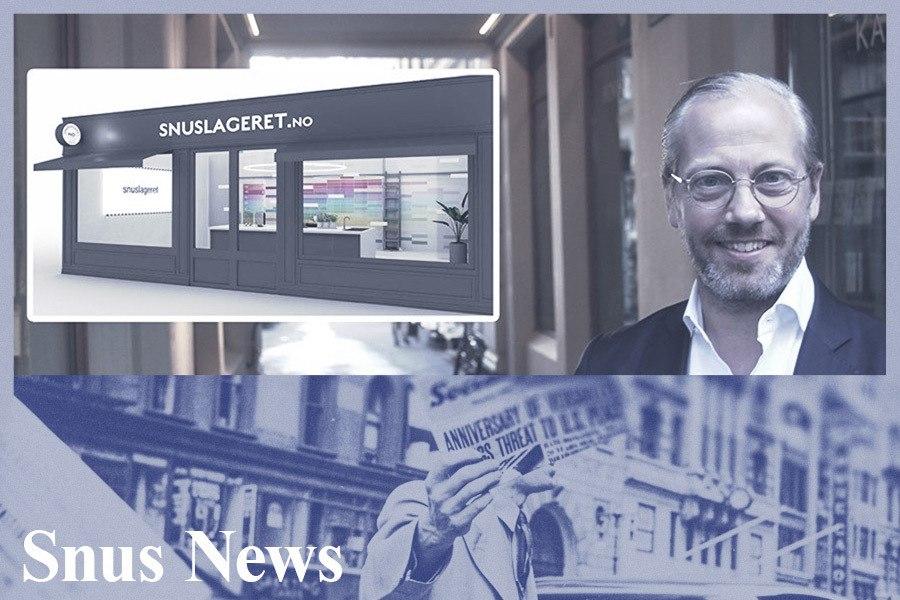 Går til krig mot harryhandel med Norges første snusbutikk