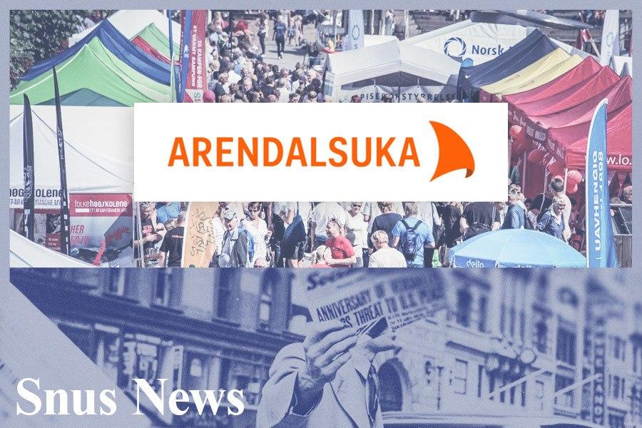 Snus og skademinimering i Arendal